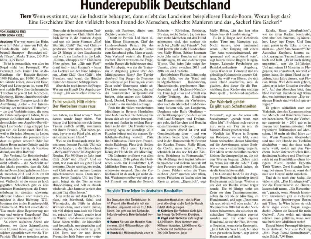2018_02_23_Augsburger_Allgemeine_(Stadt)_Hunderepublik_Deutschland